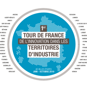 Tour de France de l'Innovation dans les Territoires d'industries: 4 étapes en Normandie